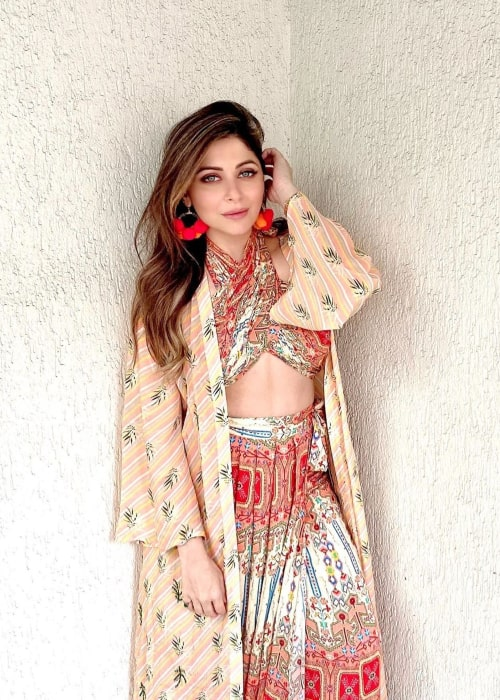 Kanika Kapoor as seen in an Instagram Post in February 2020