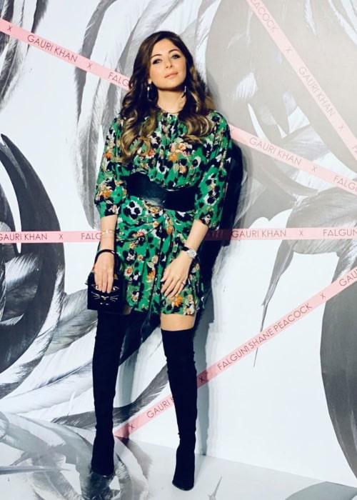 Kanika Kapoor as seen in an Instagram Post in November 2019