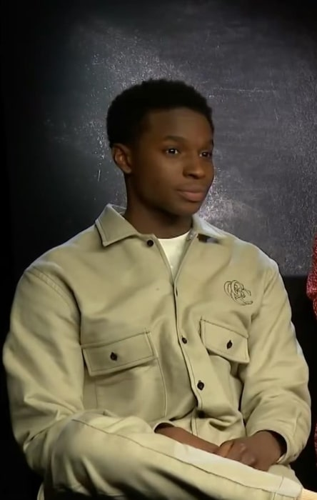 Kedar Williams-Stirling as seen at an MTV International interview in January 2019