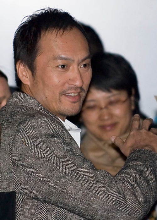 Ken Watanabe as seen while leaving the press conference for 'Letters from Iwo Jima' at Hyatt Hotel, Potsdamer Platz, Berlin in February 2007