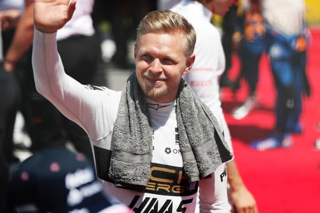 Kevin Magnussen as seen in an Instagram Post in June 2019