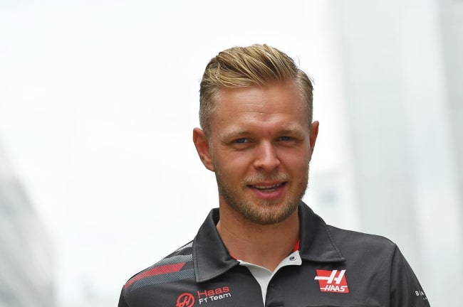 Kevin Magnussen as seen in an Instagram Post in Novemeber 2018