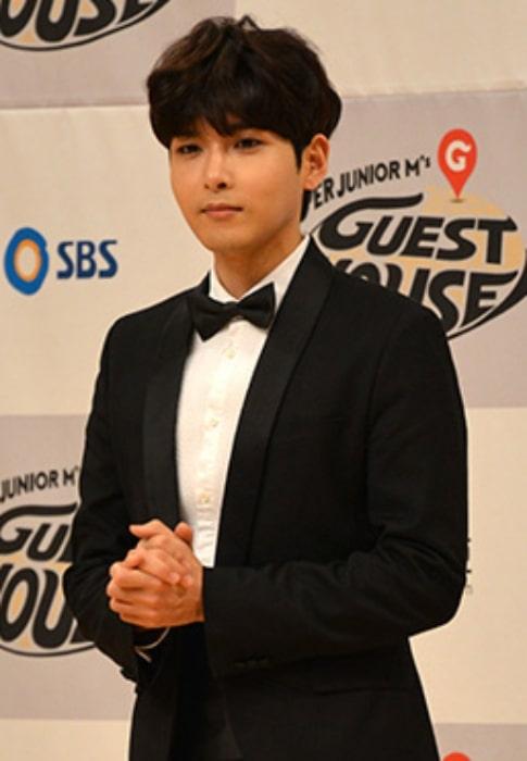 Kim Ryeo-wook as seen in September 2015