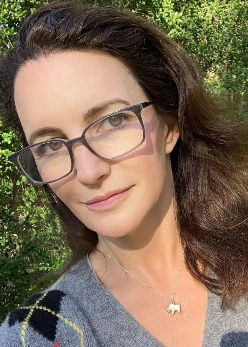 Kristin Davis in an Instagram selfie from May 2019