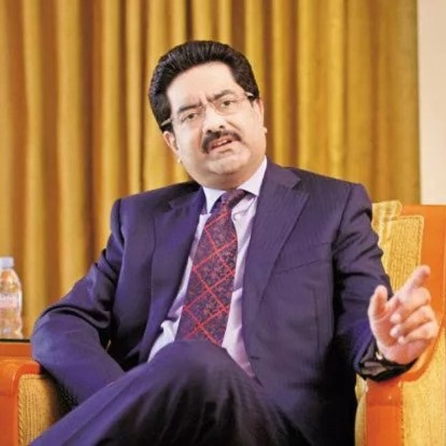 Kumar Mangalam Birla as seen in a picture taken in the past