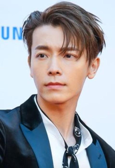 Lee Donghae as seen in November 2017