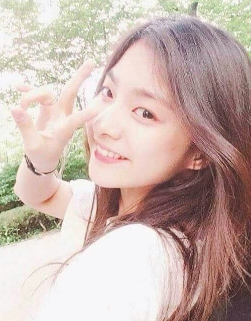 Lee Na-gyung as seen in a picture that was uploaded to her fan page in July 2019