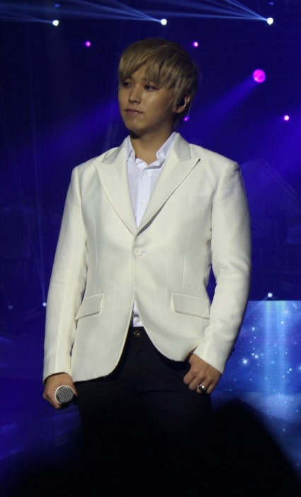 Lee Sung-min as seen during Super Show 5 in Manila in October 2013