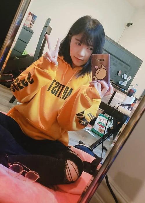 LilyPichu in a selfie in October 2019
