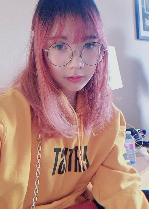LilyPichu in an Instagram selfie as seen in May 2019