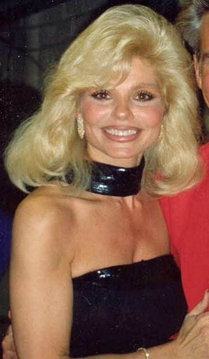 Loni Anderson during an event in 1992