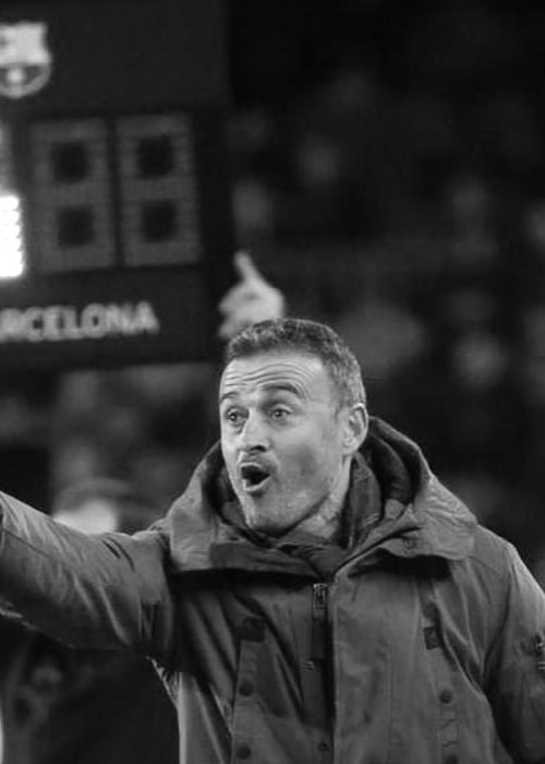 Luis Enrique as seen in an Instagram Post in December 2016
