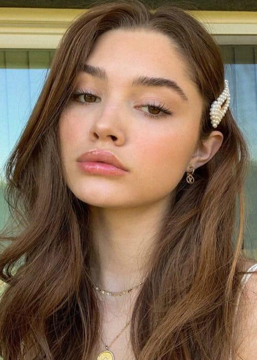 Madisyn Menchaca in an Instagram selfie as seen in February 2020
