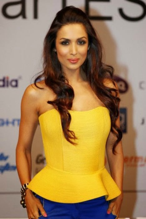 Malaika Arora during the announcement of the winners of the 2012 Taiwan Excellence SmarTest contest