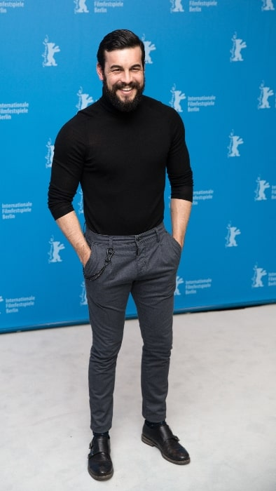 Mario Casas as seen while presenting the movie 'The Bar' at the Berlinale 2017