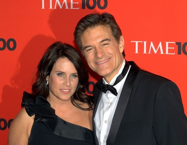 Mehmet Oz and his wife as seen at the 2010 Time 100