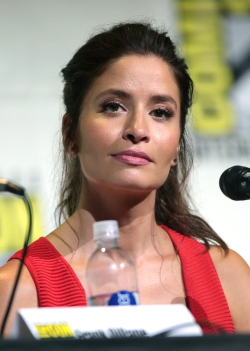 Mercedes Mason as seen while speaking at the 2016 San Diego Comic Con International, for 'Fear the Walking Dead', at the San Diego Convention Center in San Diego, California