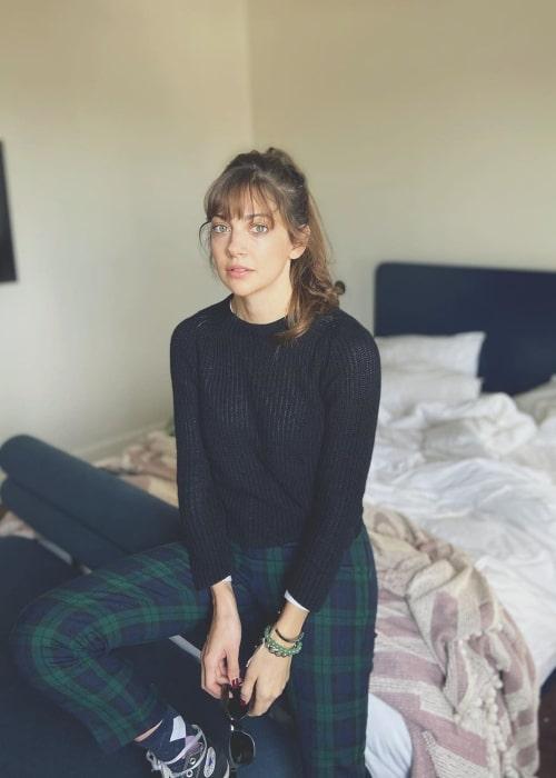 Mia Serafino as seen in a picture taken in January 2020