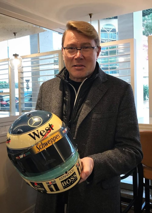 Mika Häkkinen as seen in an Instagram Post in December 2019