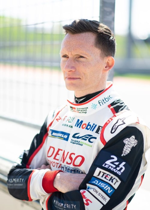Mike Conway as seen in an Instagram Post in February 2020
