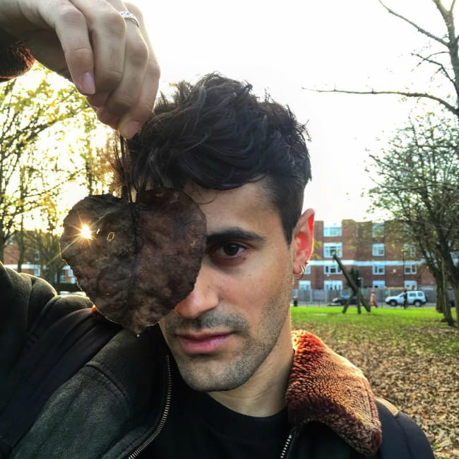 Milan Neil Amin-Smith in an Instagram post as seen in November 2015