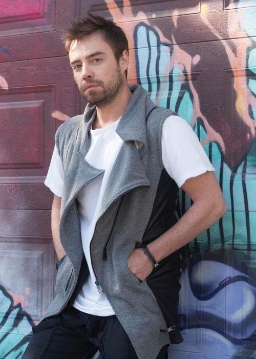 Murat Dalkılıç as seen while posing for the camera in November 2019