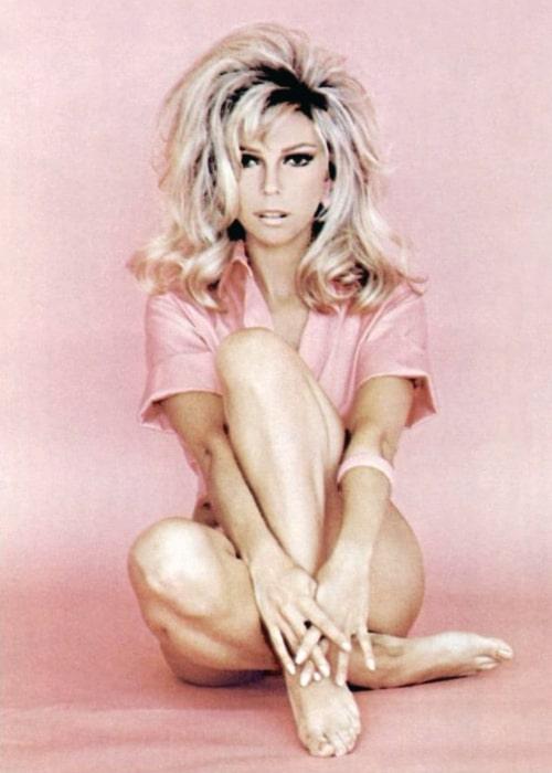 Nancy Sinatra as seen in 1971