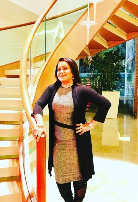 Neelu Vaghela as seen in January 2019