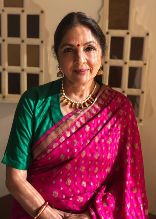 Neena Gupta as seen in an Instagram Post in February 2020