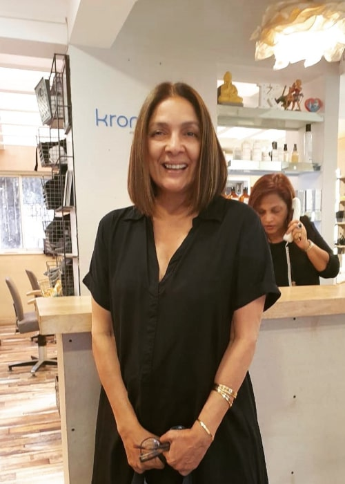 Neena Gupta as seen in an Instagram Post in January 2020