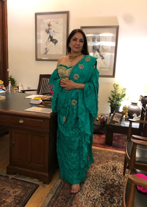 Neena Gupta as seen in an Instagram Post in November 2019