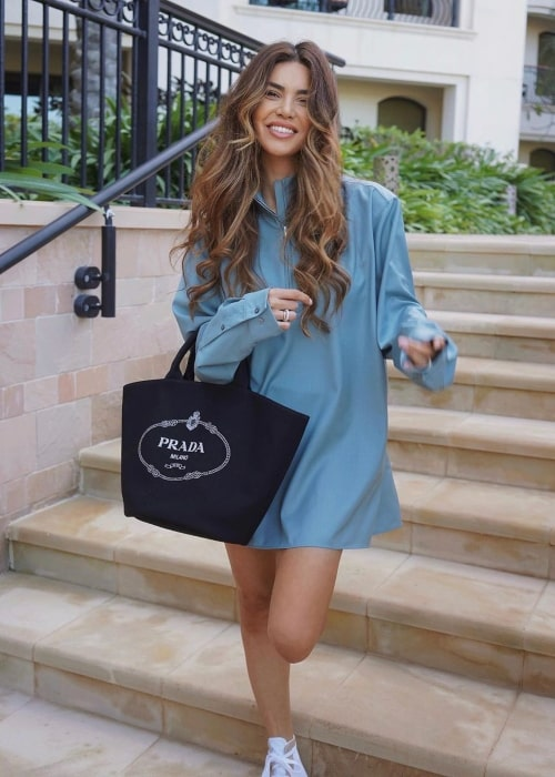 Negin Mirsalehi as seen in a picture taken in March 2020