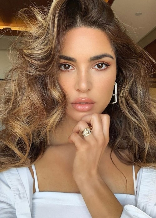 Negin Mirsalehi as seen in a selfie taken in March 2020