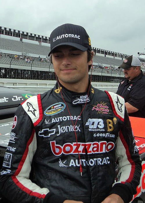 Nelson Piquet Jr. as seen in August 2011