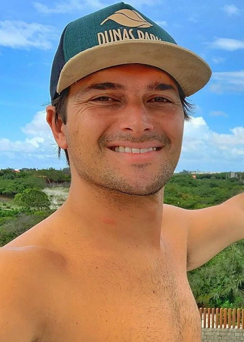 Nelson Piquet Jr. in an Instagram selfie as seen in February 2020