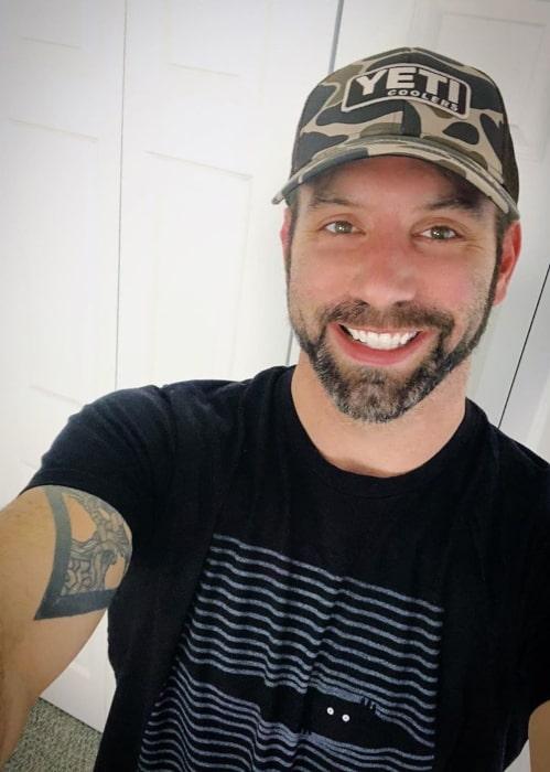 Nick Groff as seen in a selfie taken in March 2020