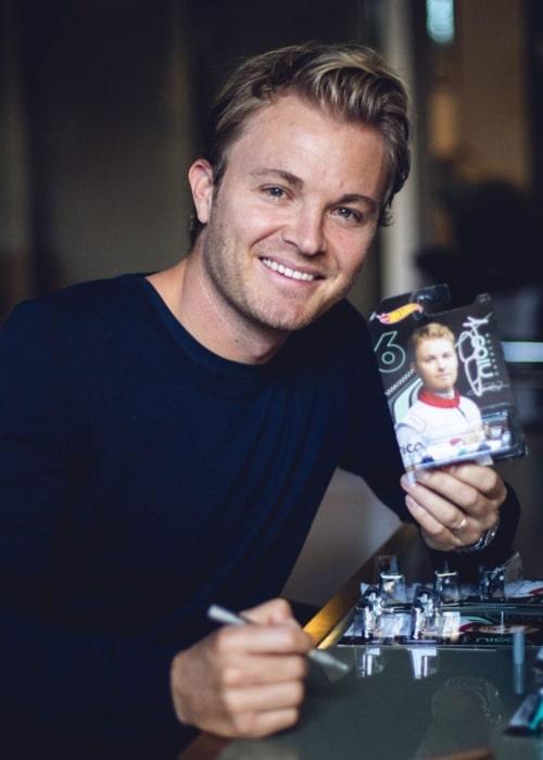 Nico Rosberg as seen in an Instagram Post in December 2019