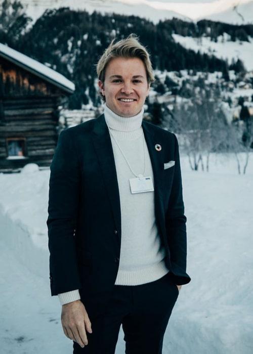 Nico Rosberg as seen in an Instagram Post in January 2020