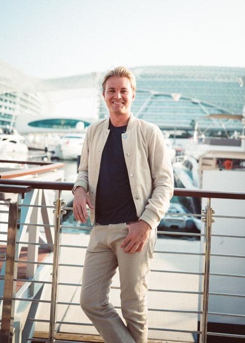 Nico Rosberg as seen in an Instagram Post in November 2019