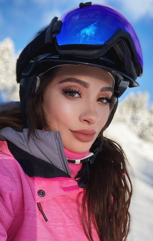 Nicol Concilio as seen in a selfie taken in Mammoth Lakes, California in December 2019