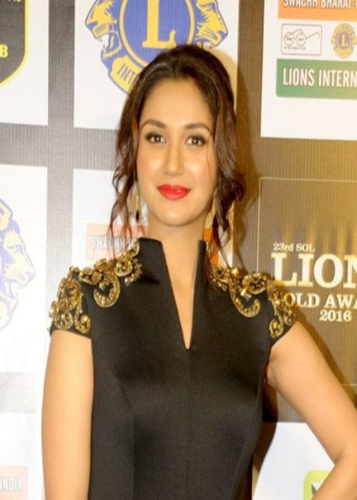 Nikita Dutta at 23rd SOL Lions Gold Awards 2016