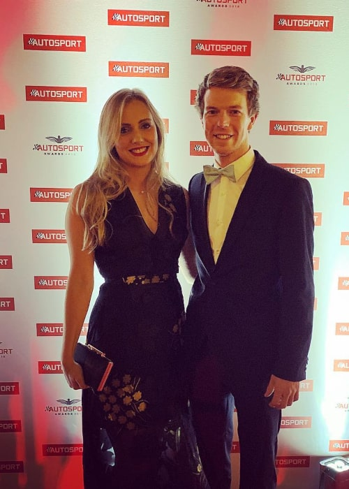 Oliver Turvey and Caroline Haines, as seen in December 2018