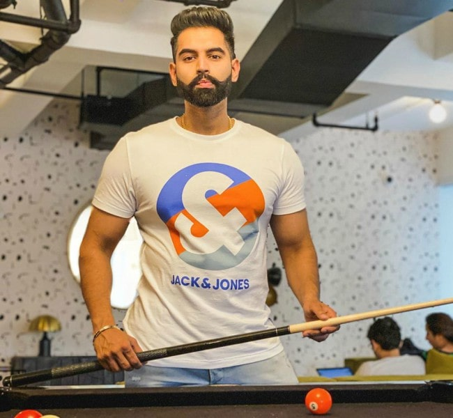 Parmish Verma in an Instagram post as seen in February 2020