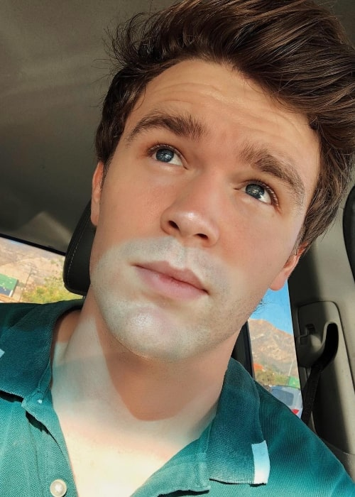 Peyton Clark as seen in a selfie taken in October 2018