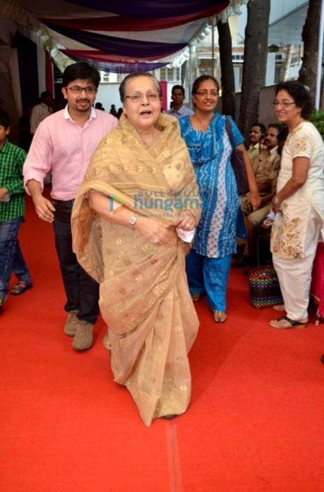 Rakhee Gulzar at the inauguration of the skin clinic La Piel in Oshiwara in October 2014