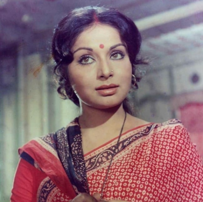 Rakhee Gulzar in her glorious youth