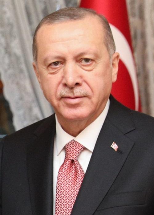 Recep Tayyip Erdoğan as seen in November 2018