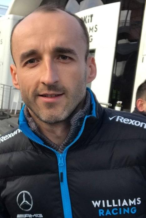 Robert Kubica as seen in 2019