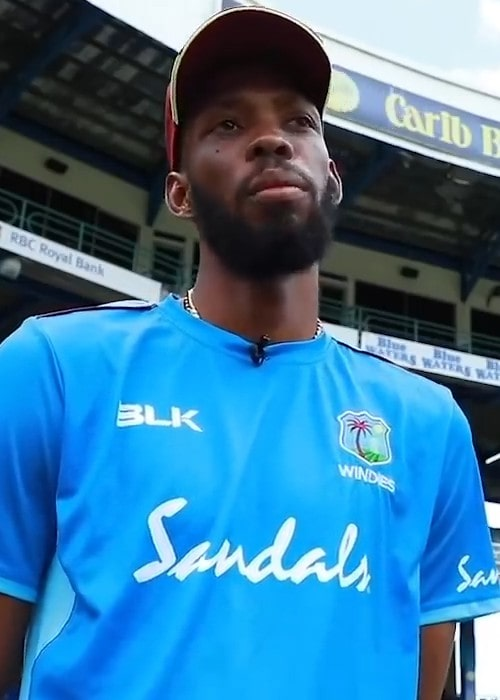 Roston Chase as seen in August 2019