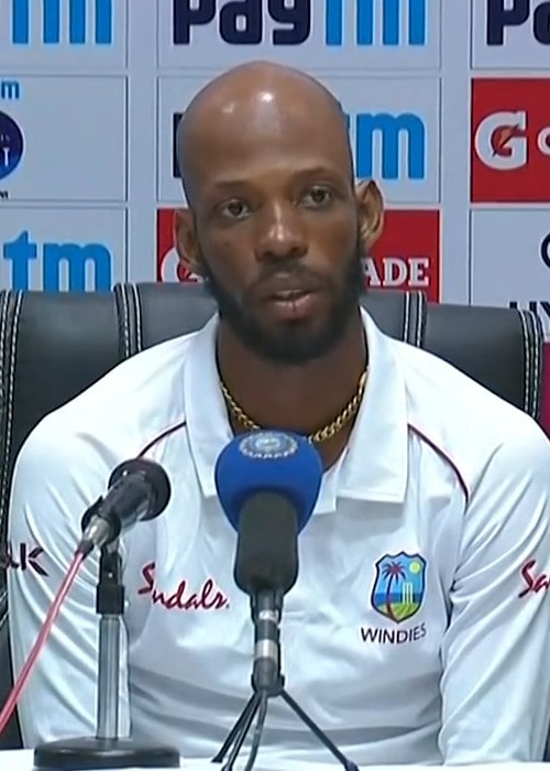 Roston Chase during an interview in October 2018